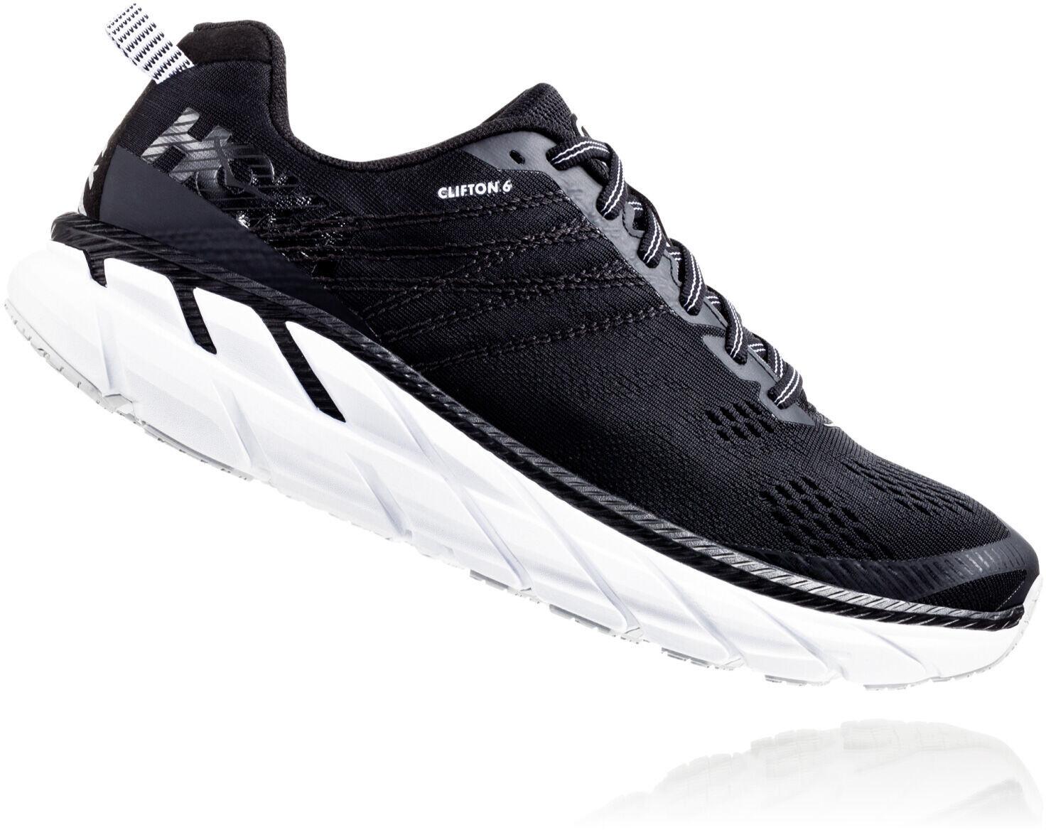Hoka One One Clifton 6 Running Shoes Women blackwhite